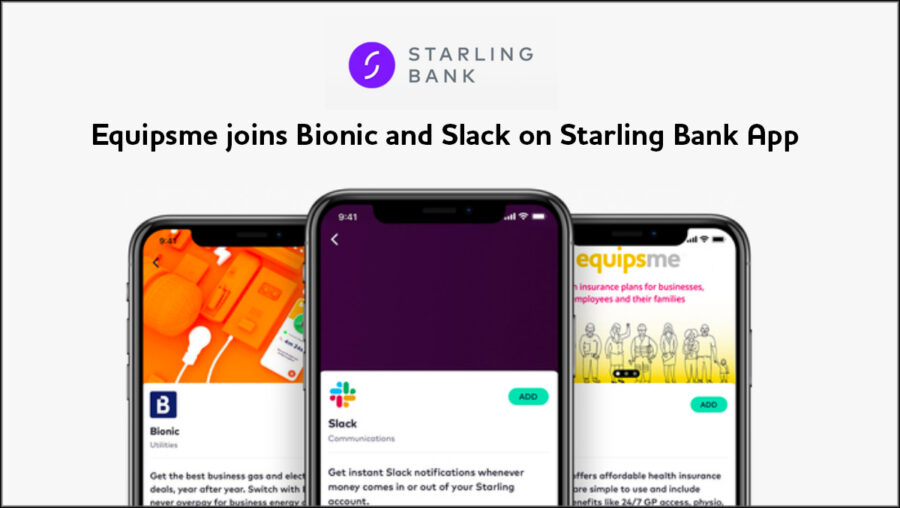 Starling Bank partners with Equipsme